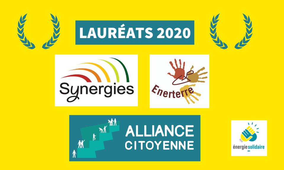 Découvrez les lauréats de l'appel à projet 2020 !